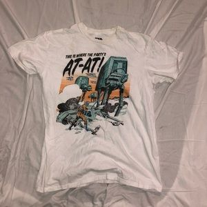 Star Wars tee sz L